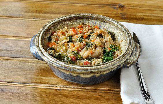 Italian Style Chicken and Vegetable Quinoa Stew-2 by Good Thymes and ...