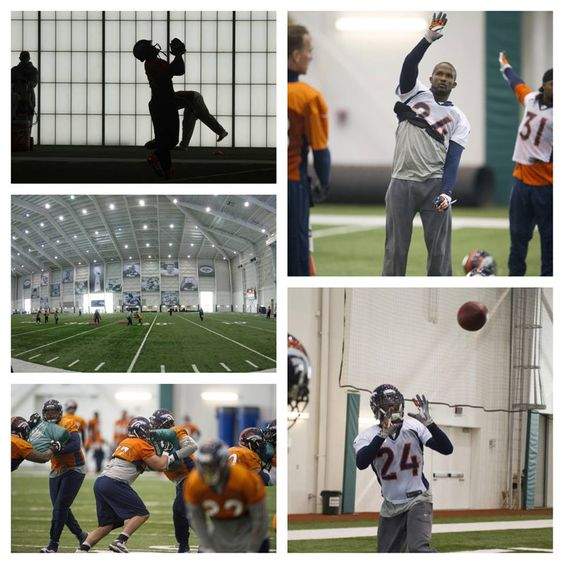Go behind-the-scenes of Super Bowl prep and view exclusive photos from the #Broncos' practice on Thursday!
