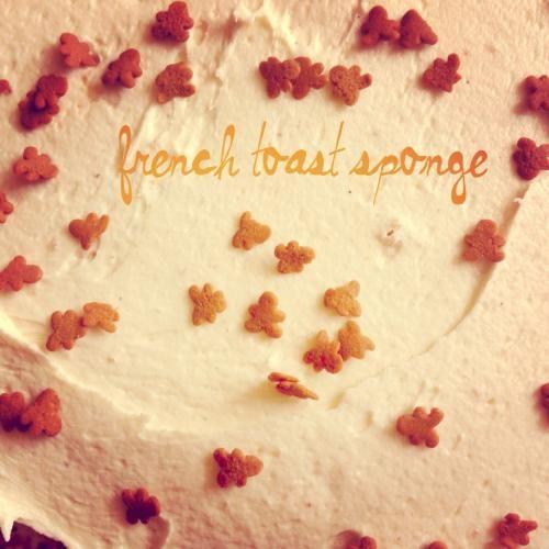French Toast Sponge Cake