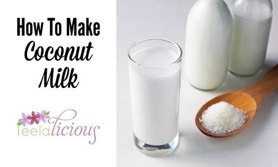 How to Make Homemade Coconut Milk - Only 2 ingredients and BPA free