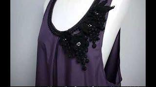 伸縮性布ミシン縫い方 - YouTube