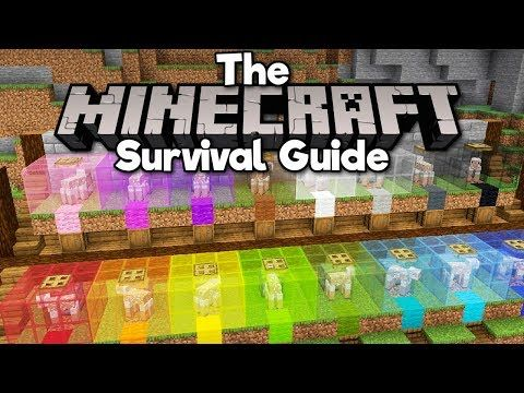 Automatic Sheep Shearing Wool Farm The Minecraft Survival Guide Tutorial Lets Play Part 132 Minecraft Survival Guide Minecraft Survival Minecraft Farm