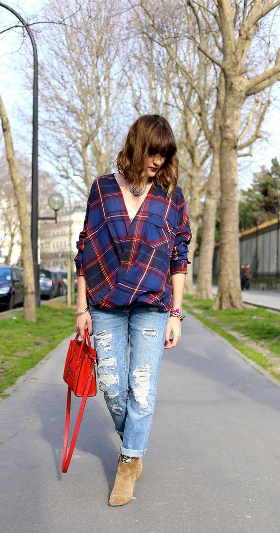 chemise carreaux tartan