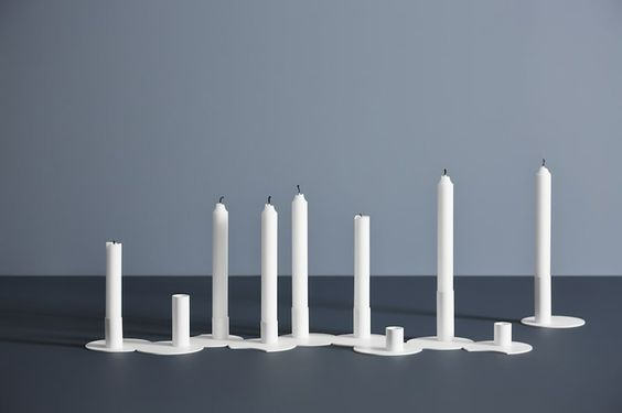 Cluster Candleholders by Woud