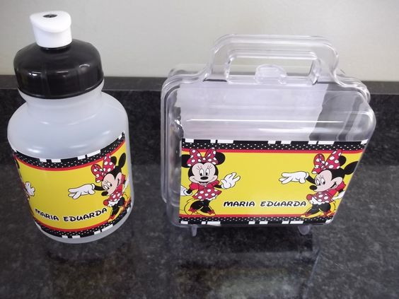 kit squeeze + maletinha minnie vermelha. http://www.elo7.com.br/silvana