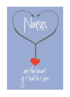 Nurses Day Card, Nurses are the heart of Health Care (919768):