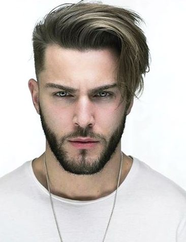 Short Sides Long Top Hairstyles For Men 12