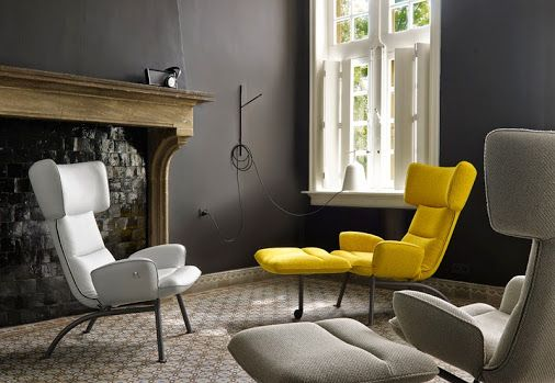 +Ligne Roset  /@-Chair by Toshiyuki Kita #ligneroset #design #homedesign | #chair #armchair