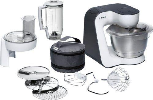 Bosch 39 Litre Watt Styline Kitchen Machine, White  Grey 700 - A - Rezepte Für Kenwood Küchenmaschine