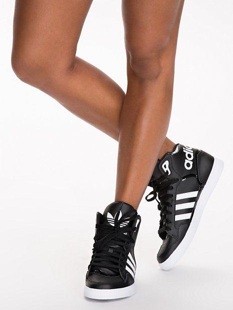 Extaball W - Adidas Originals - Black/White - Everyday Shoes - Shoes - Women - Nelly.com: