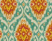 NEW - Ubud ikat pillow cover in Sunstone - 20 x 20