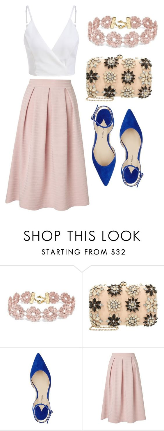 """""""#statement"""" by koodita ❤ liked on Polyvore featuring BaubleBar, Miss Selfridge and Paul Andrew"""