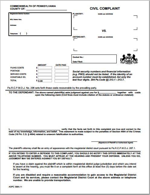 Generic blank complaint form at worddoxorg Microsoft Templates - transcript request form