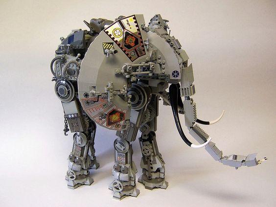 Mecha-Elephant by monsterbrick