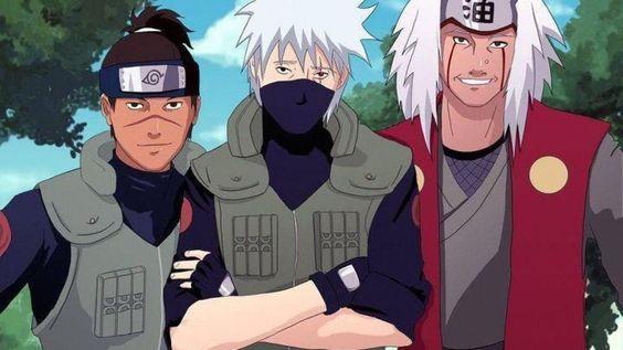 Iruka e Jiraya - Naruto