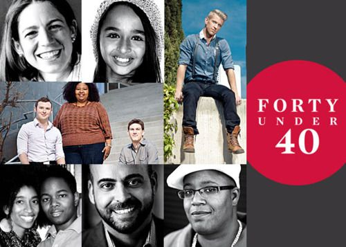 """The Advocate presents its annual """"Forty Under 40"""" list."""