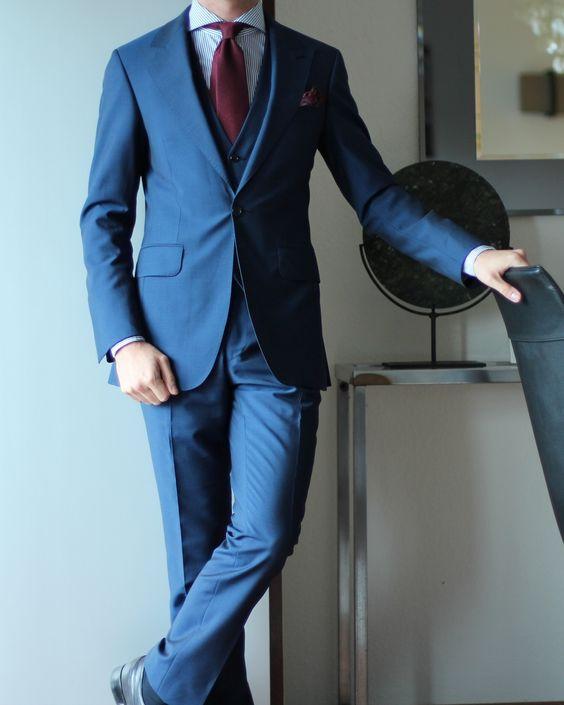 "paul-lux: "" MTM suit by Ohnona Kamakura shirt Charvet tie Charvet PS John Lobb shoes """
