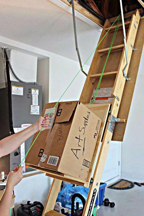Sterilite Ultra Latch Box 6 Pack Attic Rooms Attic Storage Attic Renovation