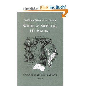Wilhelm Meisters Lehrjahre - Johann Wolfgang von Goethe. Tot dit boek heb ik wat meer afstand, delen ook snel doorheen gelezen, maar ik houd van de stemming