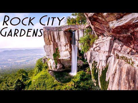 Rock City Gardens Georgia Lookout Mountain You Can See Seven States Youtube City Garden Lookout Mountain Trip