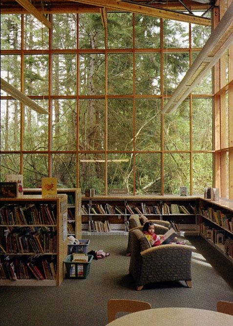 Maple Valley Library by James Cutler Architects.