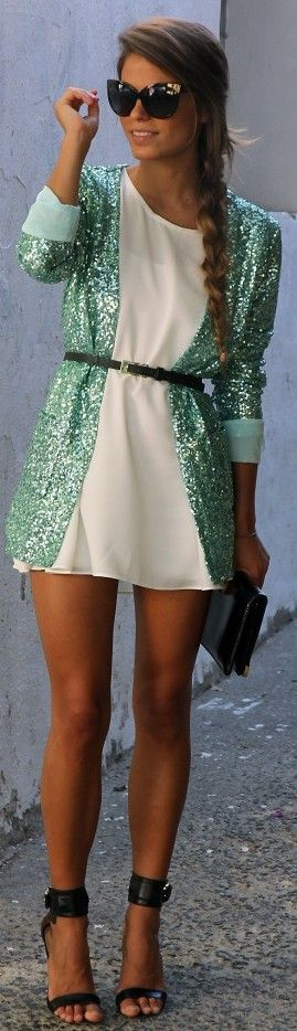 #GlitterCardigan