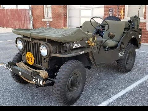 Willys 1951 M38 Flat Fender Jacked 2 Jeep Youtube Willys