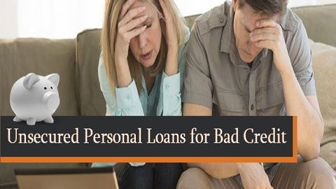 Unsecured Personal Loans For Bad Credit People Come With Guaranteed Approval Whe Personal Loans Loans For Bad Credit Bad Credit