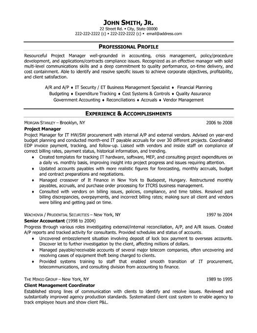 Project Manager Resume project manager resume samples Click Here To Download This Project Manager Resume Template Httpwww