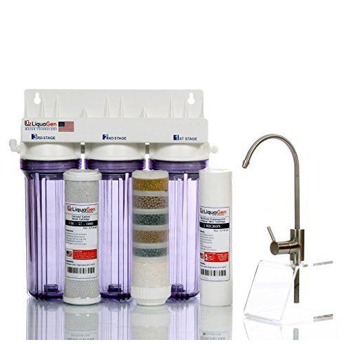 Liquagen 3 Stage Under Sink Ph Alkaline Antioxidant Mineral