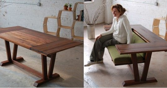 Ecosystems Bada, transforming furniture, adapt nyc, tiny apartments, tiny apartment nyc, tiny apartment, small spaces, small living, small homes, eco design, space saving design, space saving furniture, double duty furniture