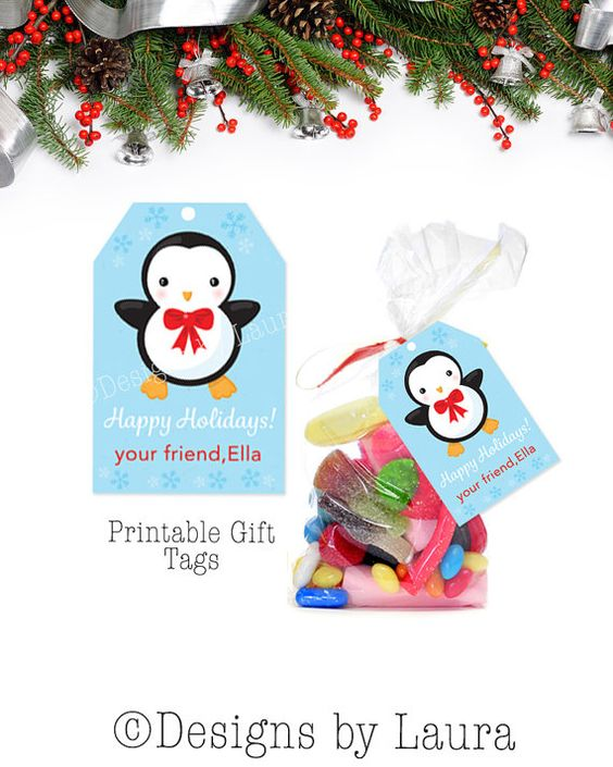 Classmate Gift Tags-Classrom Gifts-Teacher by DesignsbyLauraonEtsy