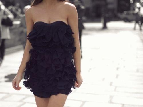 Ruffley dress