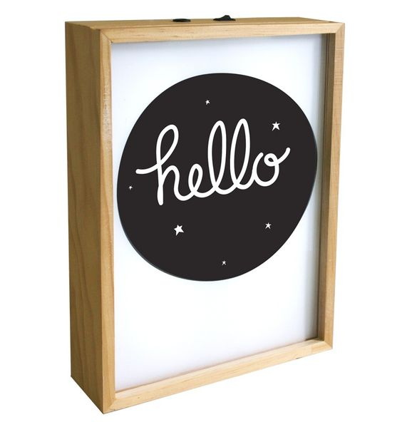 A Little Lovely Company Poster Light Box | Little Wannahaves