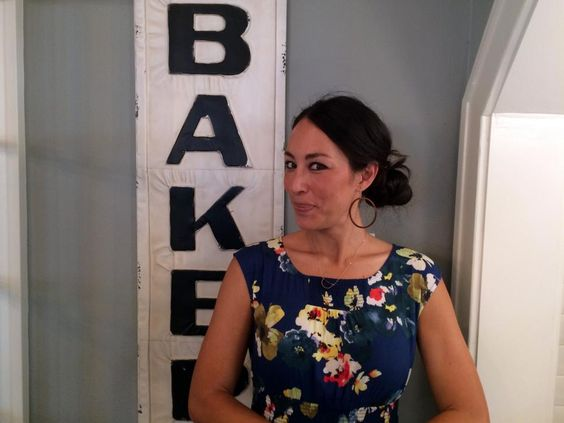 Joanna strikes a demure pose at the newly renovated home of clients and fellow Baylor alums, Lori and Baron.
