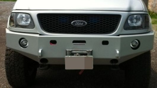 Front Winch Bumper Ford F 150 Expedition 97 03 F150 97 02 Expedition Bluelakeoffroad Ford F150 Ford Expedition Ford