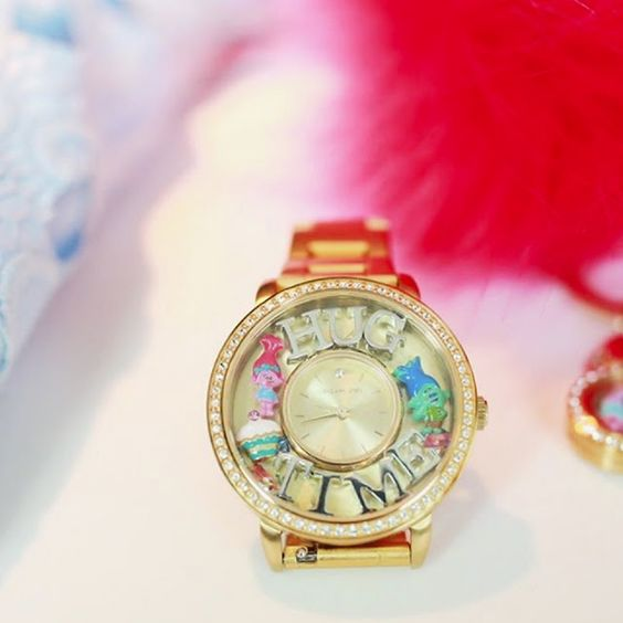shop origami owl signature locket watch filled with fun