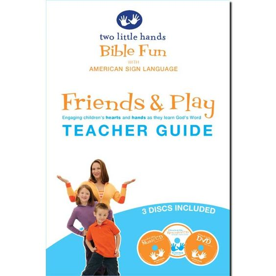 Bible Fun: Friends & Play Teacher Book  Excited for this one --- Signing Time! creators have ASL with Bible stories.  Cool.