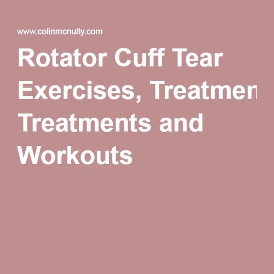 Rotator Cuff Tear Blog And Rotator Cuff On Pinterest