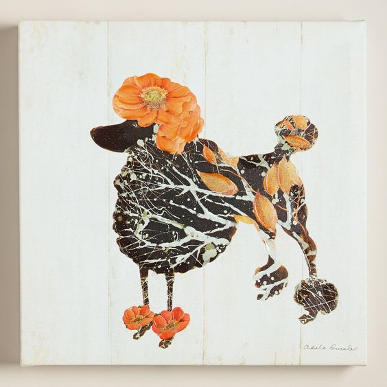 """Poodle"" by Adele Gocek 