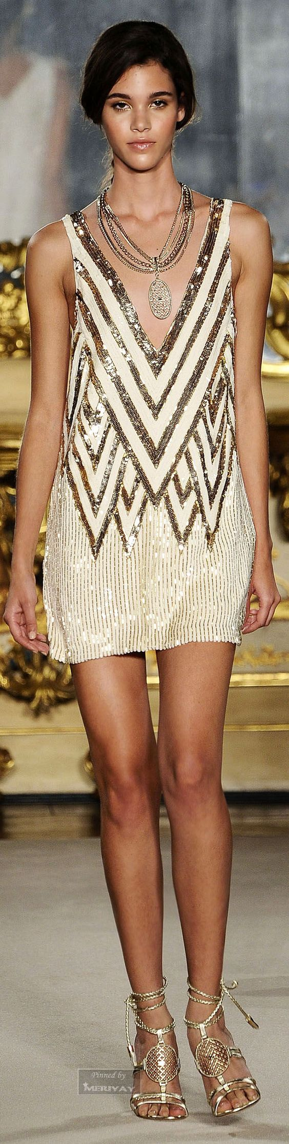 Elisabetta Franchi.Spring-summer 2015. Very Great Gatsby: