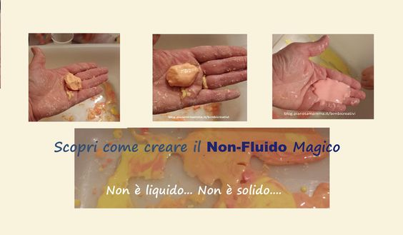 Esperimenti per Bambini: Il Non-Fluido - Science for Kids: The Oobleck