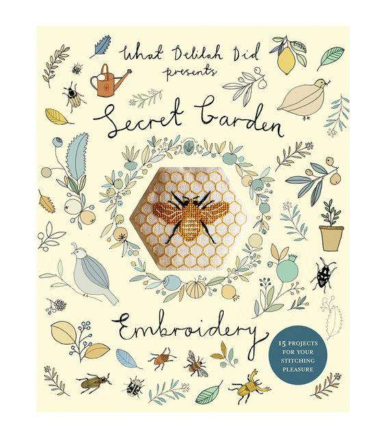 Sophie Simpson Secret Garden Embroidery Cross Stitch Book