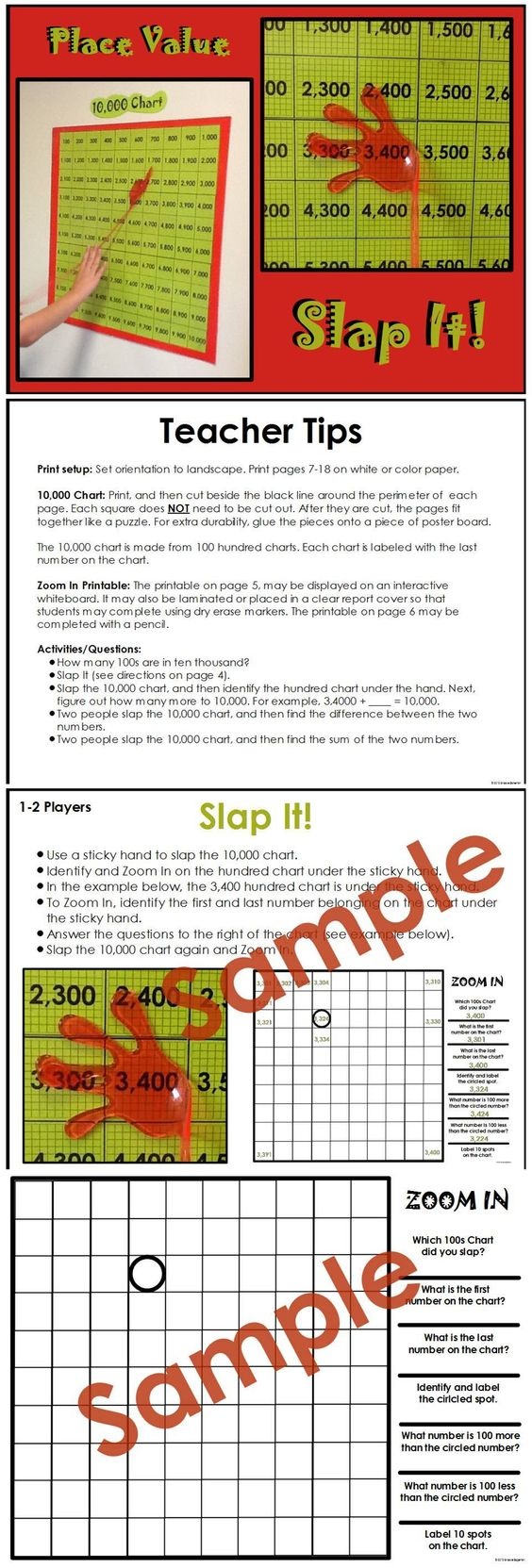 Place Value Activity Place Value Activities Place Values Math Resources