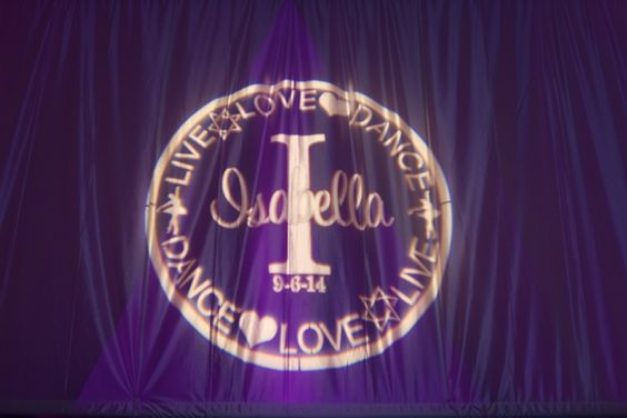 Bat Mitzvah Logo / Gobo - Design by Cutie Patootie Creations {Erica Westmoreland Photography} - mazelmoments.com