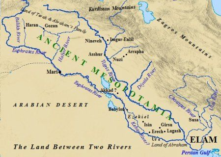 Accounting Is One Of The Oldest Careers In The Business World It - Map of egypt mesopotamia and israel