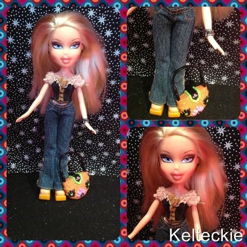 My Bratz doll for sale in my shop http://stores.ebay.co.uk/Kelteckie I would love to see you there. Mention Pin when you order and you will receive a surprise discount.