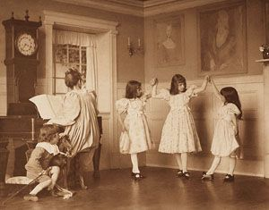 The Dance	 EICKENMEYER, ROUDOLPH, b.1862-1932 Camera Notes Vol. 4 No. 2, 1900 16.5 x 12.2 cm Photogravure