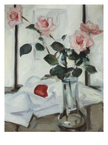 Queen Elizabeth Roses, Samuel John Peploe, c.1918