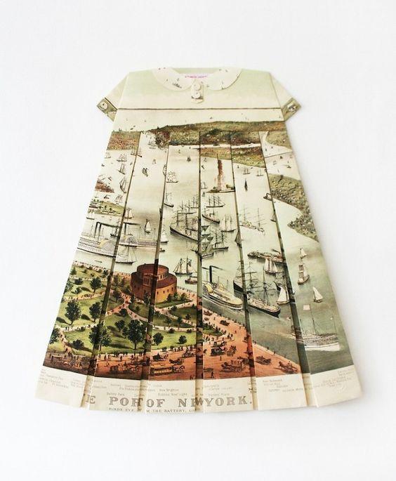 Les Robes Géographiques by Elisabeth Lecourt